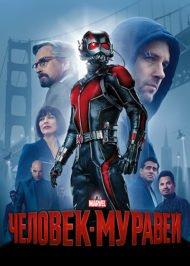 человек-муравей постер