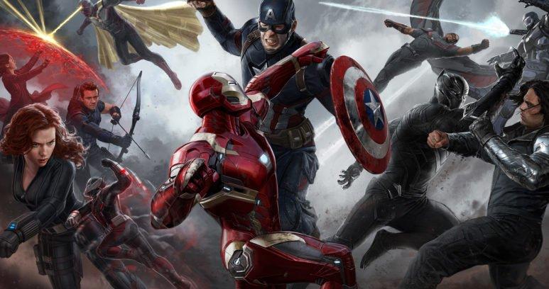 капитан америка: противостояние фон