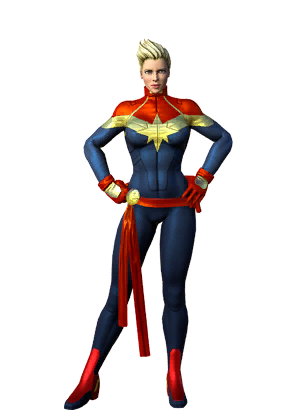 Капитан Марвел герой Marvel
