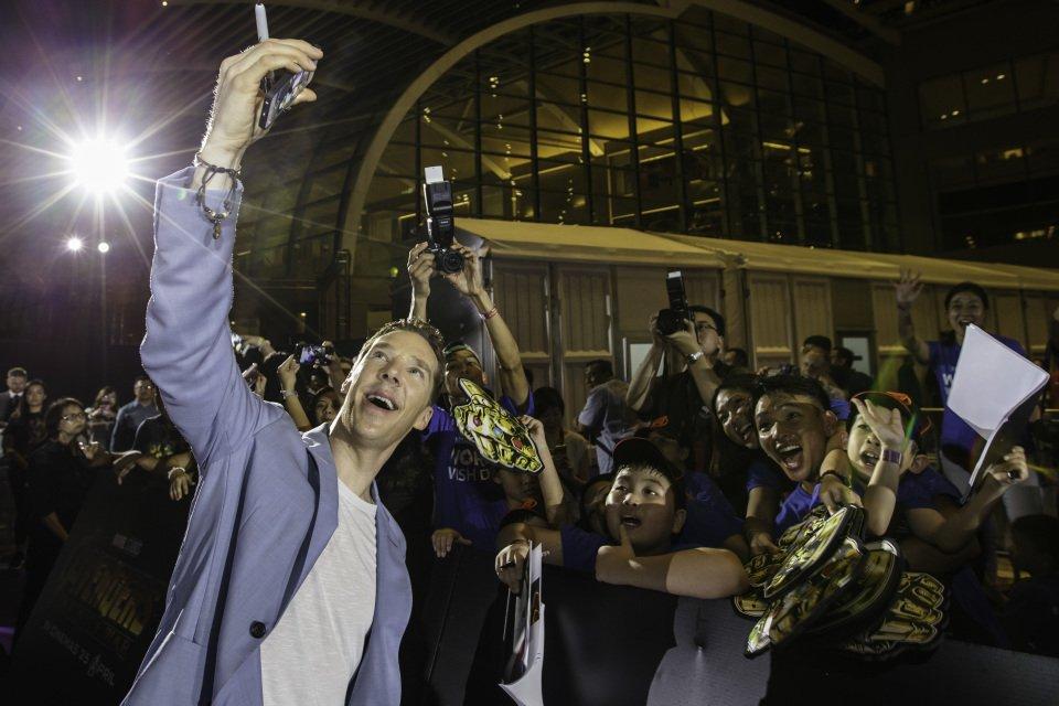Пресс-тур Мстители: Война Бесконечности в Сингапуре