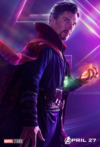 Постер Мстители: Война Бесконечности - Доктор Стрэндж