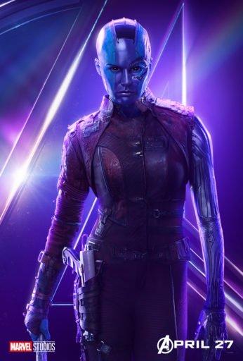 Постер Мстители: Война Бесконечности - Небула