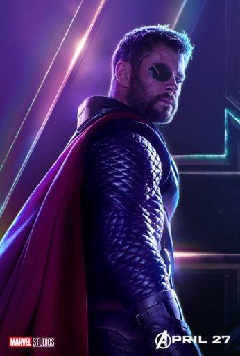 Постер Мстители: Война Бесконечности - Тор