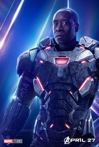 Постер Мстители: Война Бесконечности - Воитель