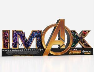 МСтители: Война Бесконечности - IMAX стенд