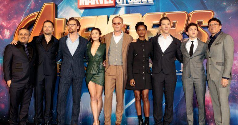 Пресс-тур Мстители: Война Бесконечности в Лондоне. Фотогалерея