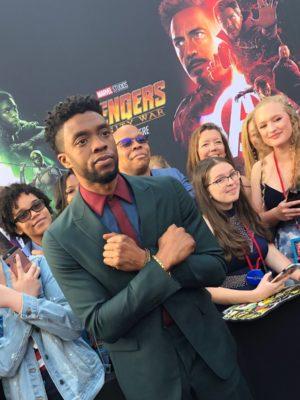 Красная дорожка мировой премьеры Мстители: Война Бесконечности. Фотогалерея