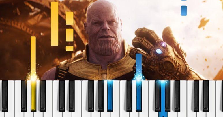 Изумительный саундтрек титров Войны Бесконечности