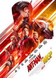 Человек-Муравей и Оса постер фильма Marvel