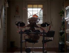 Сцена после титров Человек-муравей и Оса - Одаренный барабанщик