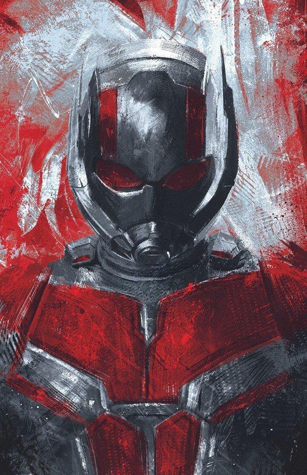 Мстители: Финал промо-арт Человек-Муравей