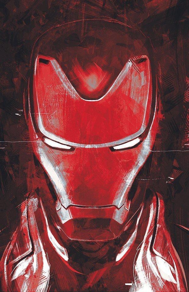 Мстители: Финал промо-арт Железный Человек