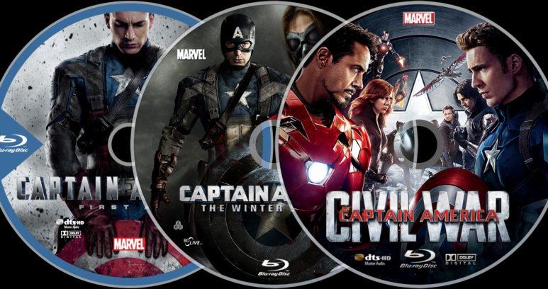 Капитан Америка - Первый мститель blu ray