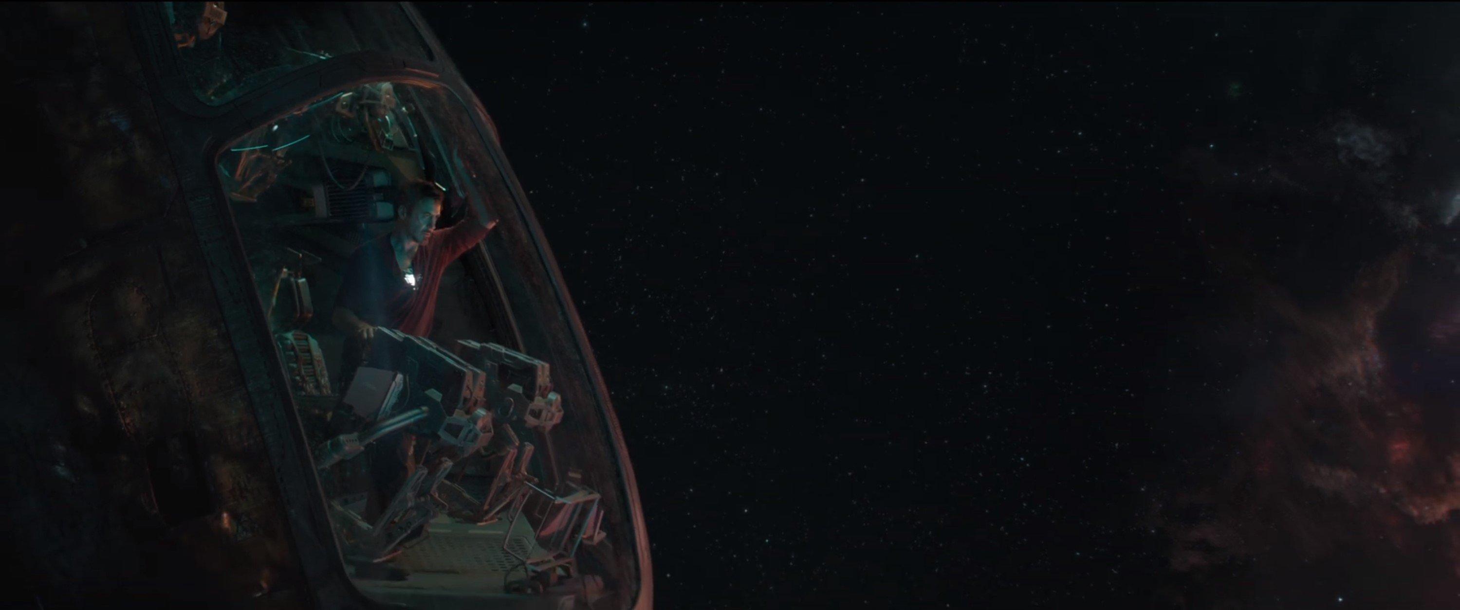 Мстители: Финал. Тони Старк