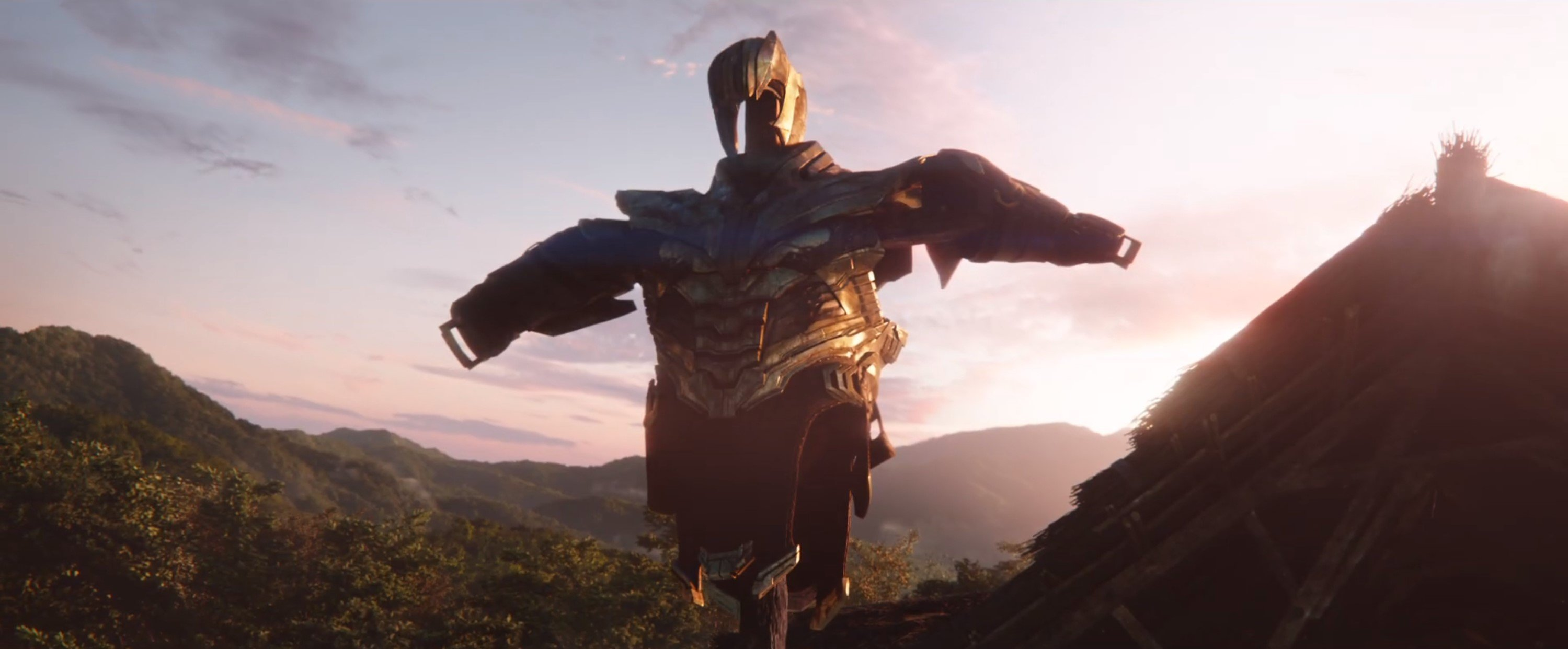 Мстители: Финал. Броня Таноса
