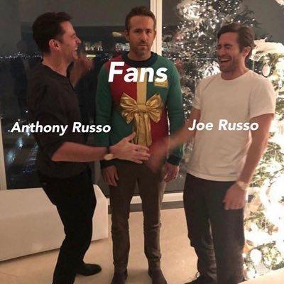 Братья Руссо и фанаты