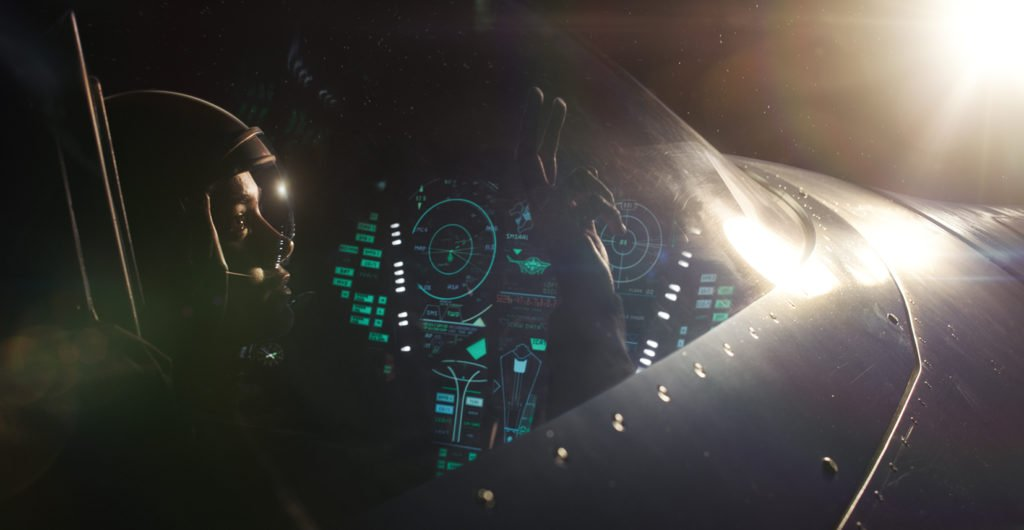 Кэрол Денверс (Бри Ларсон) кадр из фильма Капитан Марвел 2019