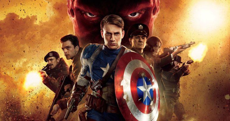 Первый Мститель фильм Marvel