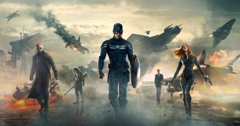 Первый мститель: Другая война фильм 2014 Marvel