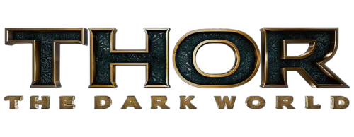 thor dark world logo