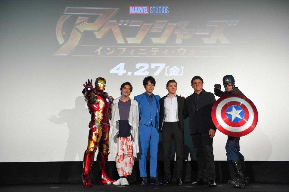 Пресс-тур Мстители: Война Бесконечности в Токио