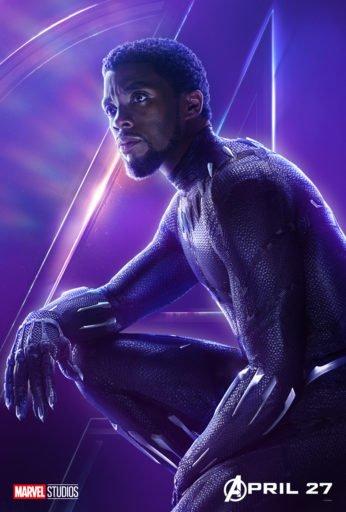 Постер Мстители: Война Бесконечности - Черная Пантера