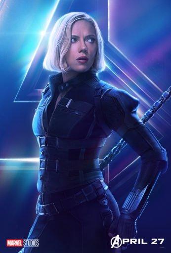 Постер Мстители: Война Бесконечности - Черная Вдова