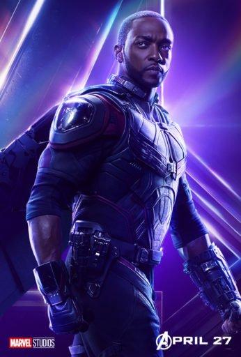 Постер Мстители: Война Бесконечности - Сокол