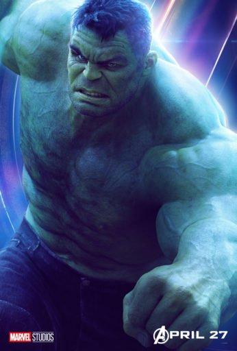 Постер Мстители: Война Бесконечности - Халк