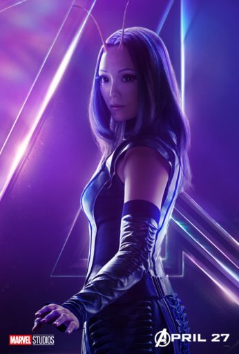 Постер Мстители: Война Бесконечности - Мантис