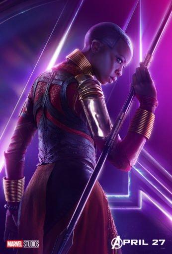 Постер Мстители: Война Бесконечности - Окойе
