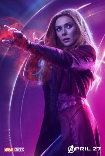 Постер Мстители: Война Бесконечности - Алая Ведьма