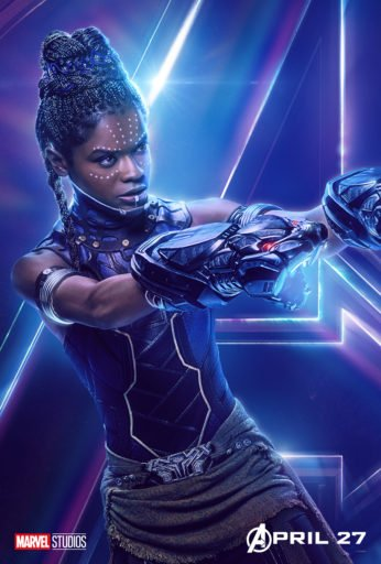 Постер Мстители: Война Бесконечности - Шури