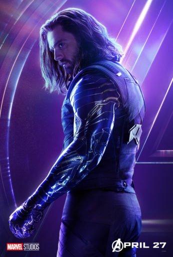 Постер Мстители: Война Бесконечности - Зимний Солдат