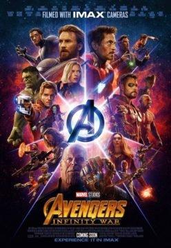 Постер IMAX - Мстители: Война Бесконечности