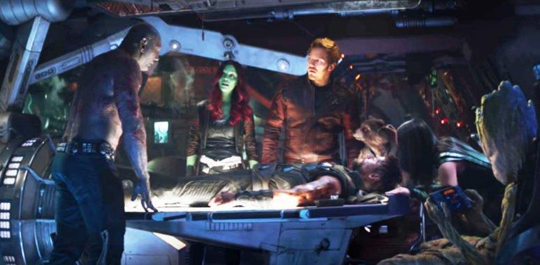 Расширенный ролик встречи Стражей Галактики с Тором