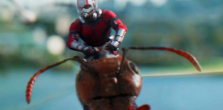 Новый трейлер Человека-Муравья и Осы