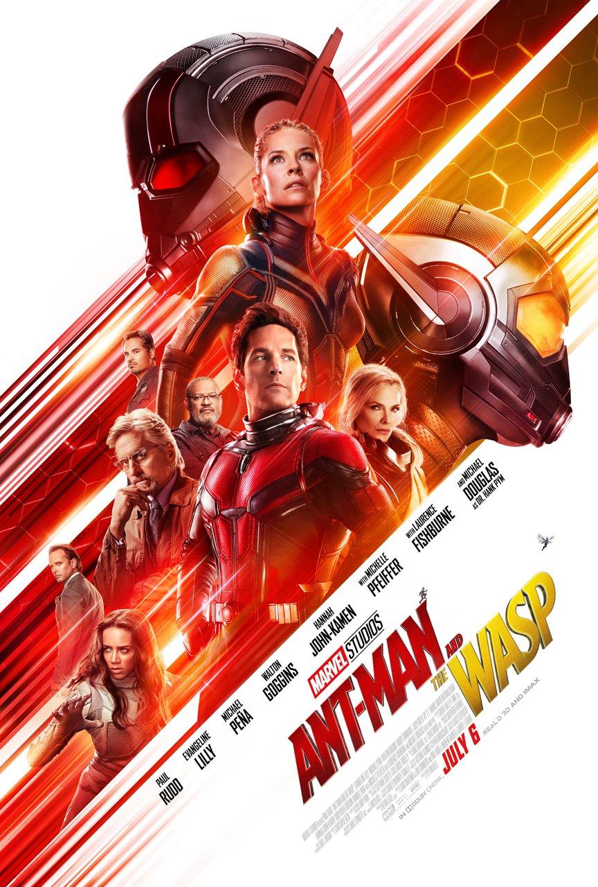 Человек-Муравей и Оса фильм 2018 Ant-Man and the Wasp