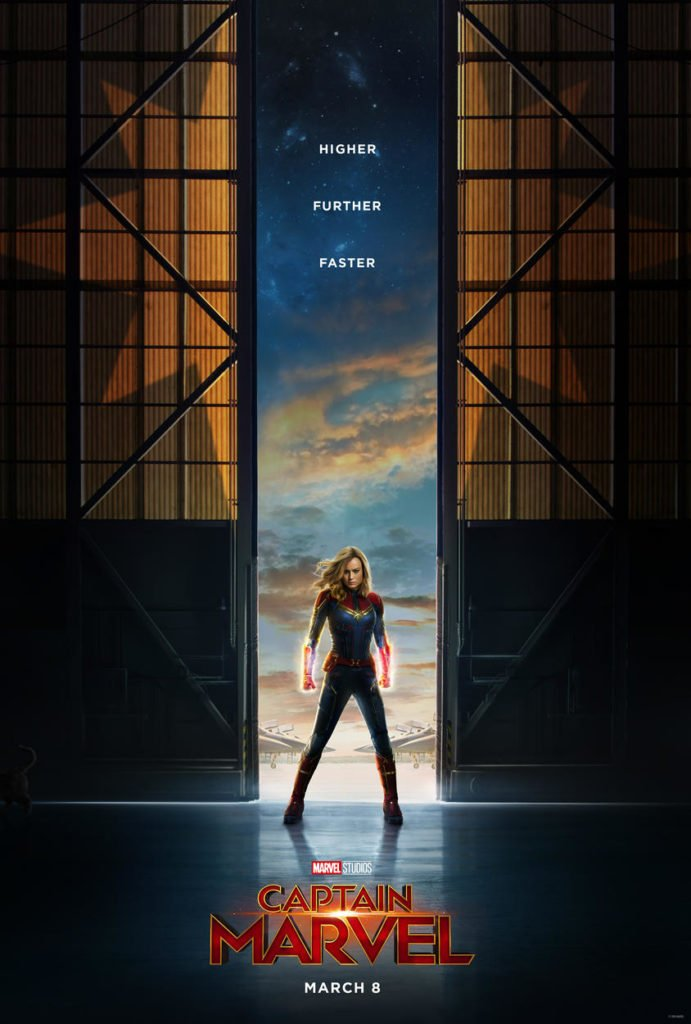 Captain Marvel тизер-постер фильма Капитан Марвел