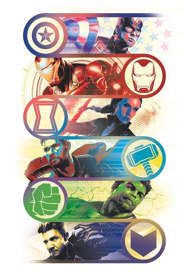 Мстители: Финал промо-арт Мстители