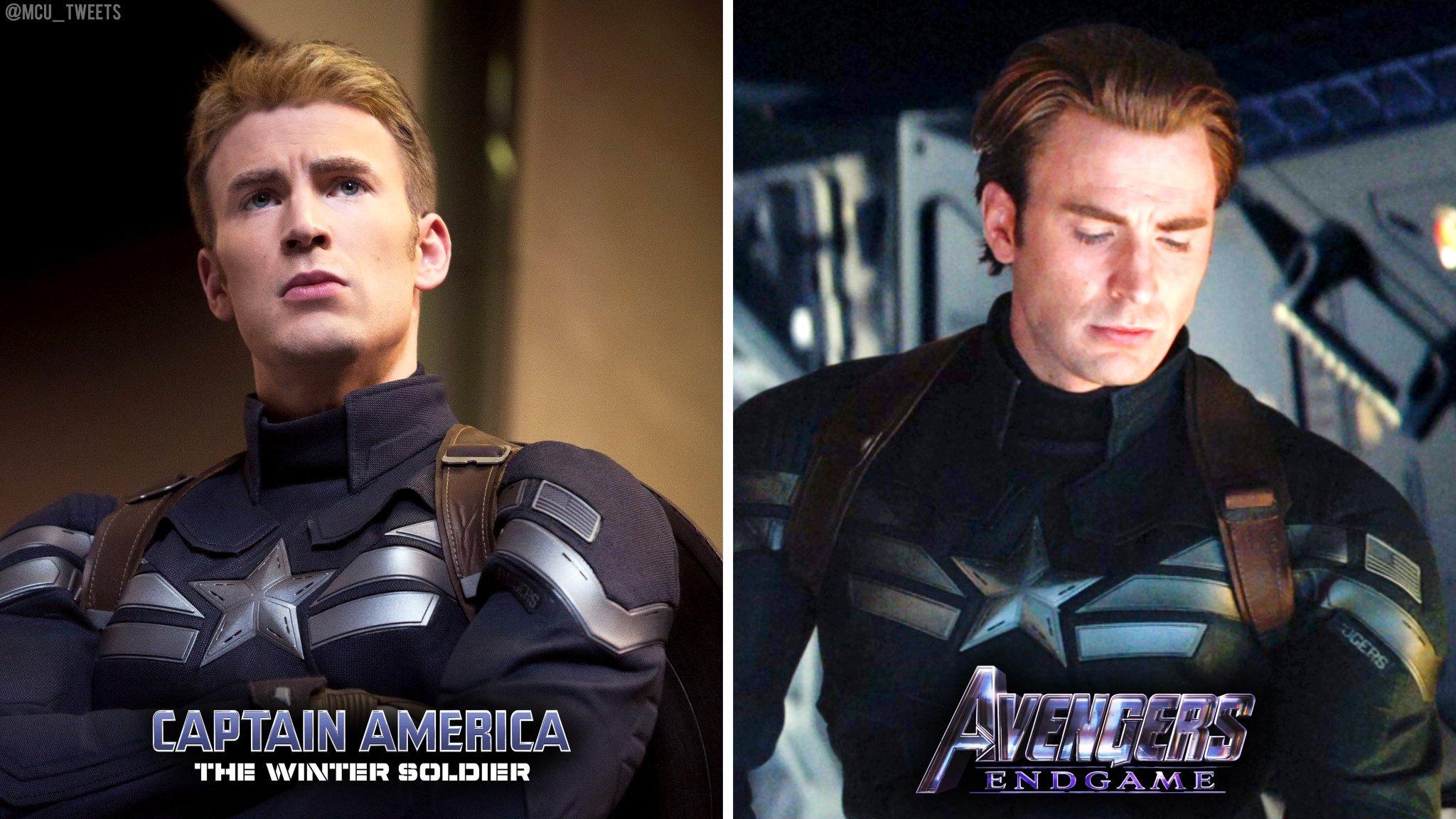 Мстители: Финал - Костюм Капитана Америка