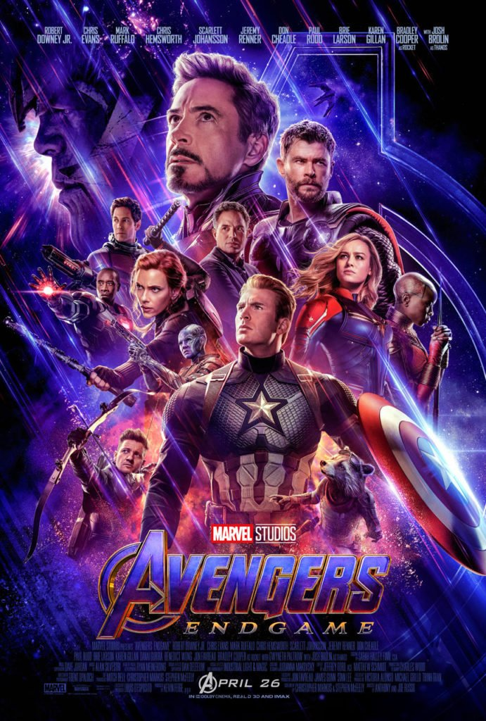 Avengers: Endgame Официальный постер фильма Мстители: Финал