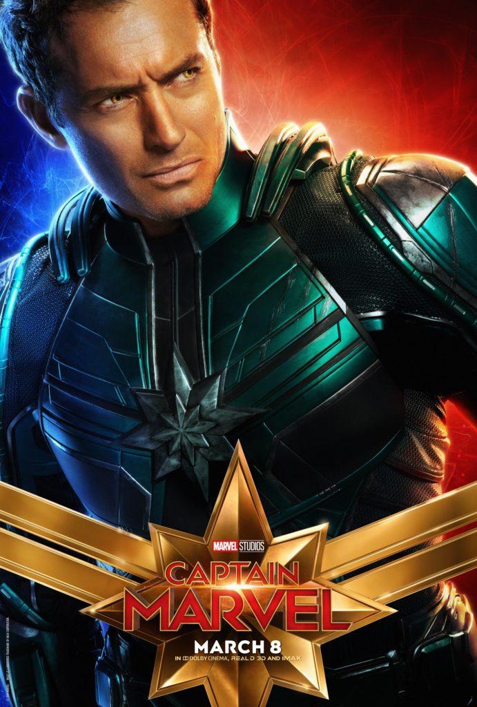Лидер Старфорс персонажный постер Капитан Марвел