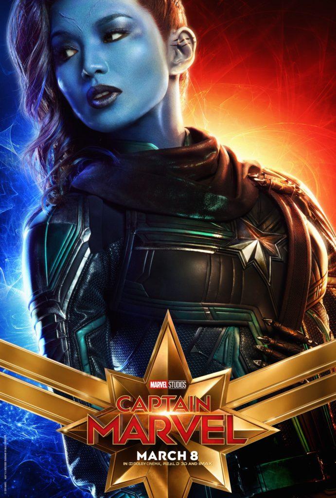 Минн-Эрва персонажный постер Капитан Марвел