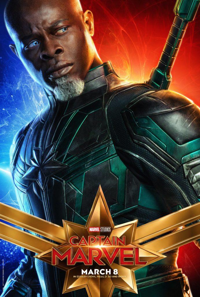 Корат персонажный постер Капитан Марвел