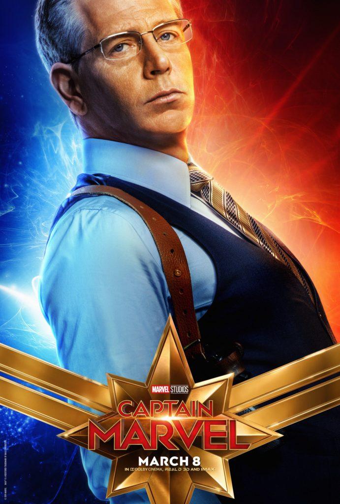 Агент Келлер персонажный постер Капитан Марвел