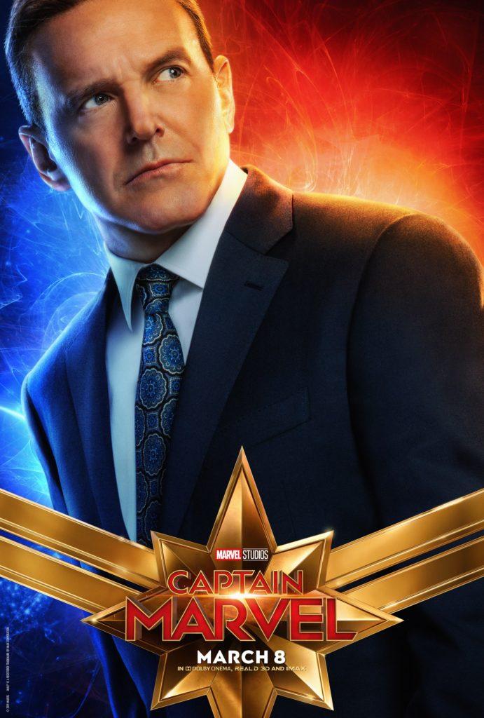 Агент Колсон персонажный постер Капитан Марвел