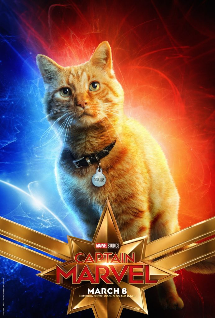 Гус персонажный постер Капитан Марвел
