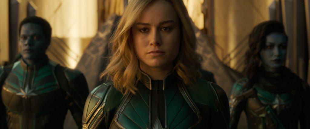 Старфорс кадр из фильма Капитан Марвел 2019