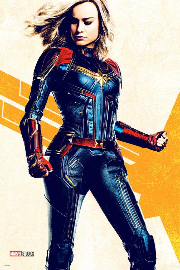 Капитан Марвел промо постер фильма Капитан Марвел